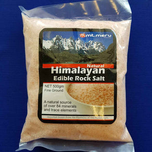 Himalayan Edible Rock Salt Finely Ground (500gr)