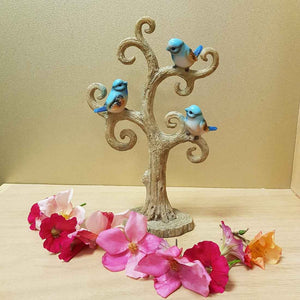 Blue Birds on a Tree ( 2 assorted approx. 25cm)