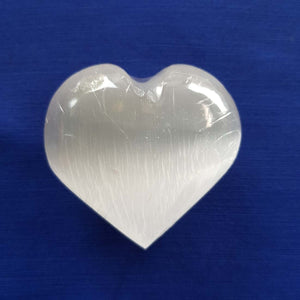 Selenite Heart (approx 6x6x3cm)