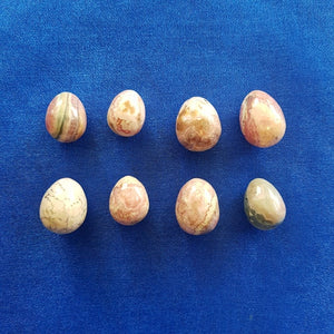 Tiny Rhodochrosite Egg (assorted 2x1.2cm)