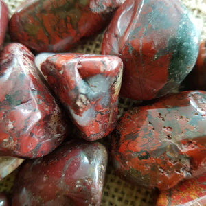 Brecciated Jasper Tumble