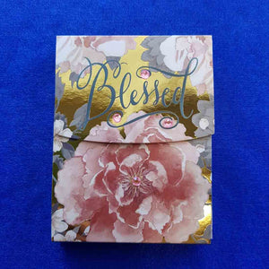 Blessed Bejewelled Notepad (approx 10x7.5cm 75 sheets)