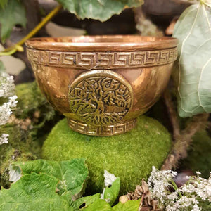 Tree of Life Copper Bowl