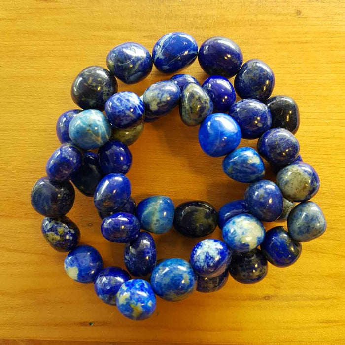 Lapis Nugget Bracelet. (assorted)