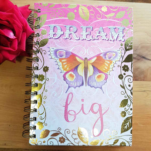 Dream Big Spiral Journal