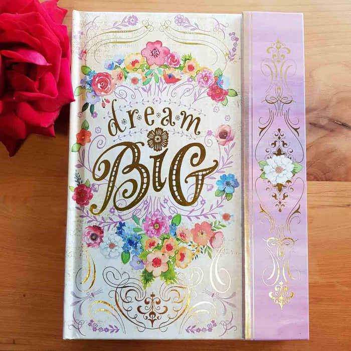 Dream Big Magnetic Close Journal