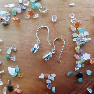 Blue Topaz Earrings (sterling silver)