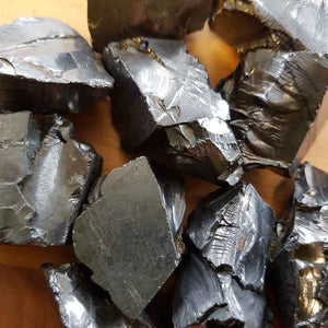 Elite Shungite Rough Rock (assorted. approx. 3x2x1cm)