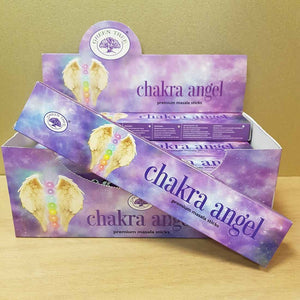 Chakra Angel Masala Incense (Green Tree)
