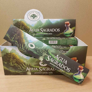 Agua Sagrados Masala Incense (Green Tree)