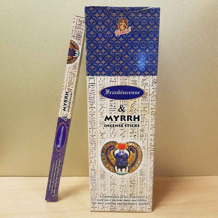 Frankincense & Myrrh Incense (8gr)