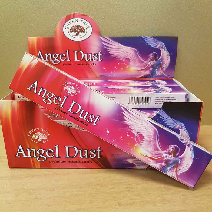 Angel Dust Masala Incense (15gr Green Tree)