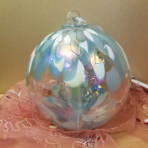 Pastel Blue Hand Crafted Spirit Ball (15cm)
