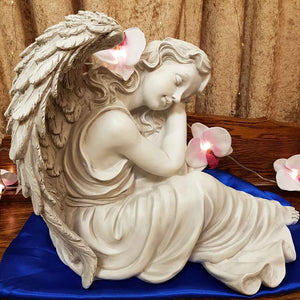 Angel Resting (approx 37x46cm suitable indoor and outdoor)