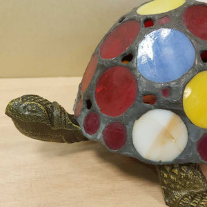 Colourful Turtle Table Lamp (approx. 10x20cm)