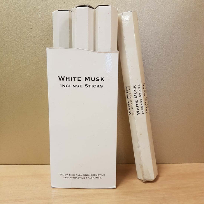 White Musk Incense (Kamini 20gr)