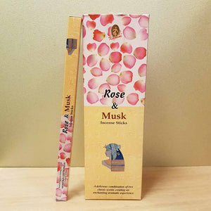 Rose & Musk Incense (8gr)