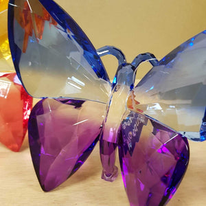 Colourful Standing Butterfly (assorted colours approx. 13x12x4cm)