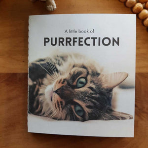 A Little Book of Purrfection (approx. 8.5x9.5cm)