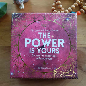 The Power is Yours Affirmation Cards (56 cards to encourage self awareness)