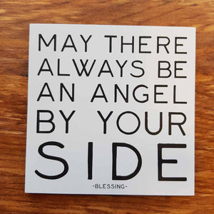 May There Always Be An Angel By Your Side Magnet