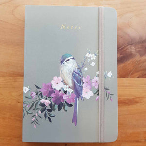 Floral Bird Soft Cover Journal