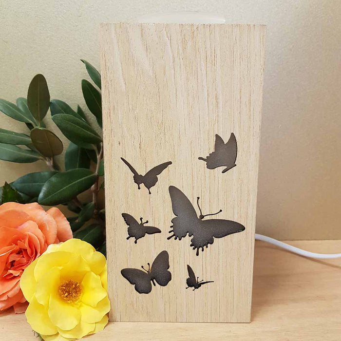 Butterfly Electric Oil Burner (approx. 21x10x10cm)