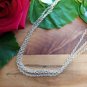 White Metal Chain (approx. 45cm)