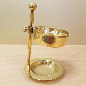 Brass Resin & Incense Cone Burner