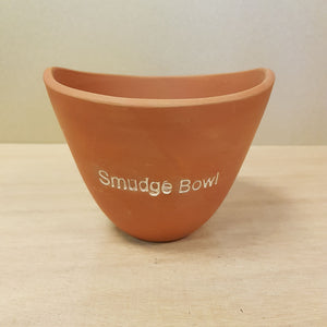 Clay Smudge Bowl (approx. 10x8cm)