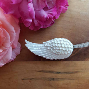Angel Wing Hanging Ornament (approx 7.5x3.5cm)