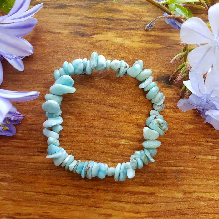 Larimar Chip Bracelet (assorted)