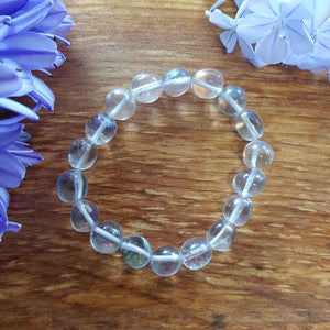 Angel Aura Quartz Nugget Bracelet