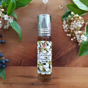 Jasmine Roll-on Perfume Oil (Kamini 8ml)