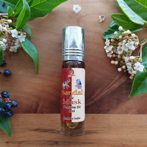 Sandal & Musk Roll-on Perfume Oil (Kamini 8ml)