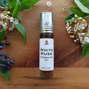 White Musk Roll-on Perfume Oil (Kamini 8ml)
