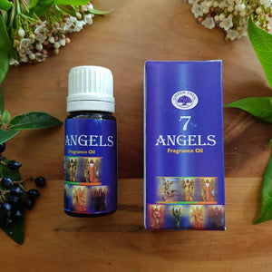 7 Angels Fragrance Oil (Green Tree 10ml) for Oil Burners