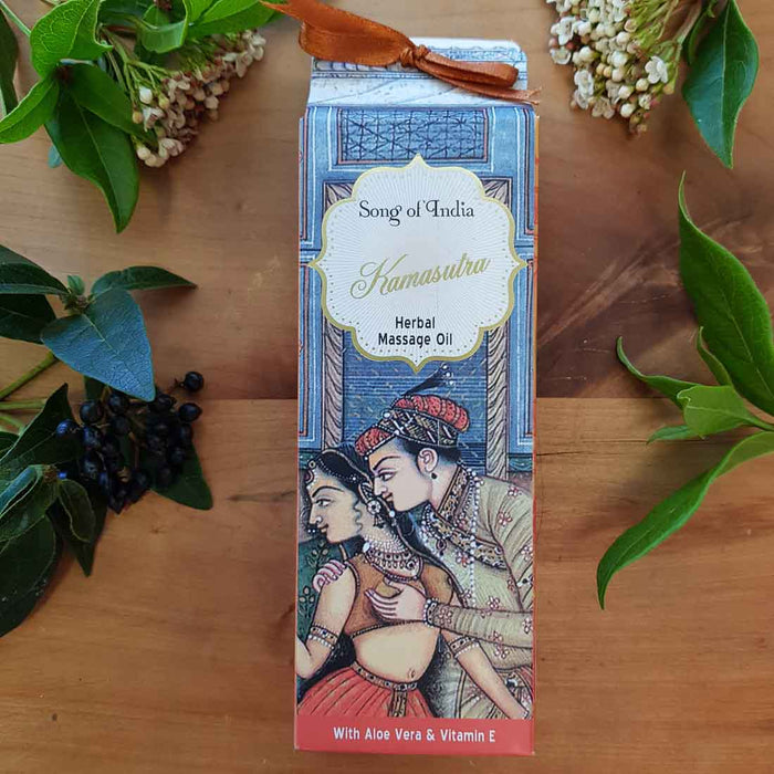 Kamasutra Massage Oil (Song of India 100ml)