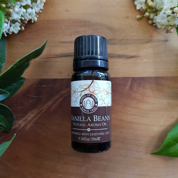 Vanilla Bean Natural Aroma Oil (Song of India. 10ml)