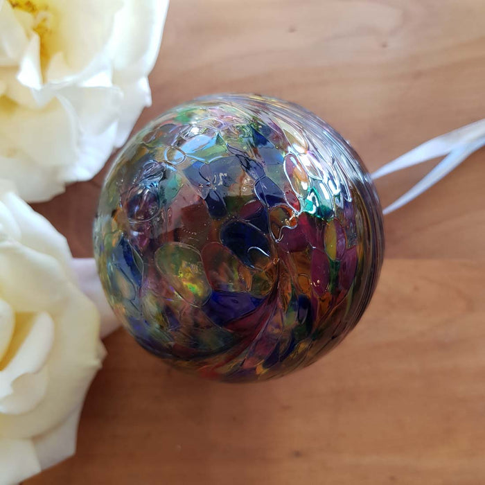 Multi Colour Hand Crafted Friendship Ball (8cm)