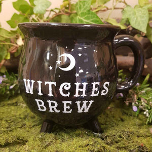 Witches Brew Cauldron Mug. (10 x 10 x 10cm)