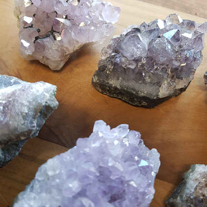 Amethyst Cluster. (assorted)