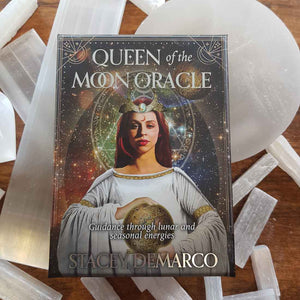 Queen of the Moon Oracle Cards.