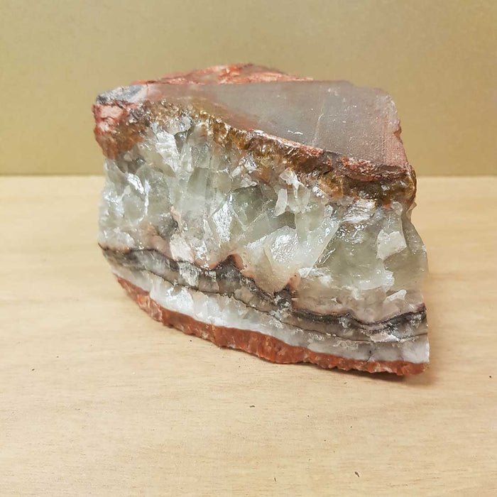 Rainbow Calcite Rough Speciman. (approx 7x11x7.5