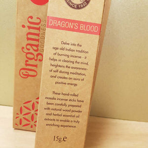 Dragons Blood Masala Incense Sticks. (Song of India. 15 gr)