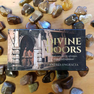 Divine Doors Mini Inspiration Cards. (behind every door lies adventure, mystery and inspiration)