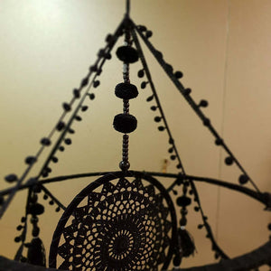 Black Chandelier Dream Catcher.