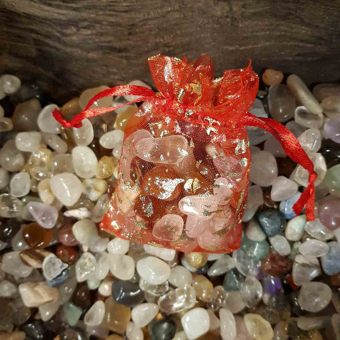 Fill a Bag of Tiny Tumbled Crystals