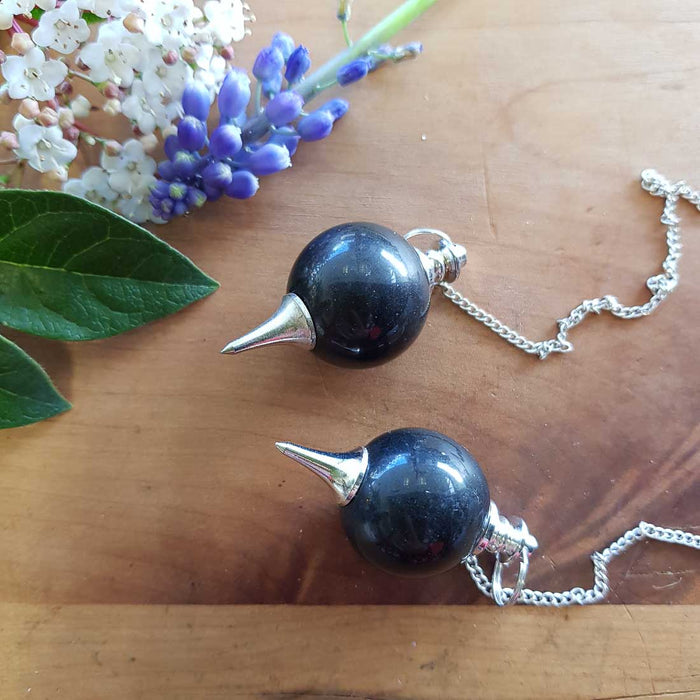 Obsidian Ball Pendulum (assorted)