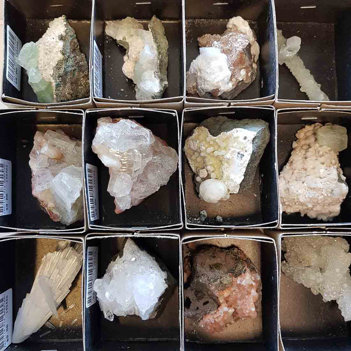 Zeolite Mix Specimen. (assorted. approx. 3x5cm plus)